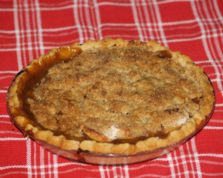 Pear Crumb Pie Recipe