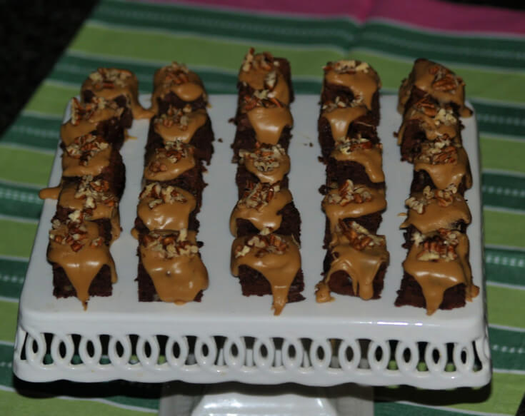 Brownie Petits Fours Recipe