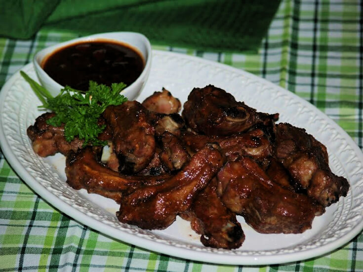 Barbeque Pork Rib Appetizers
