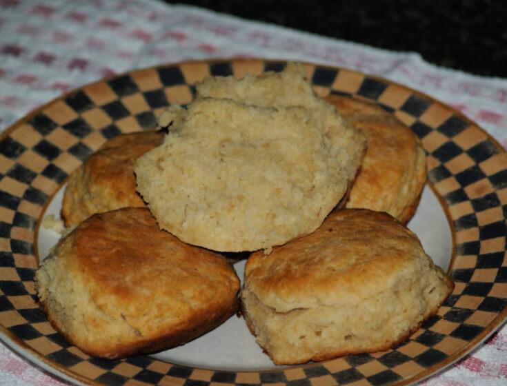 Buttermilk Sourdough Biscuits