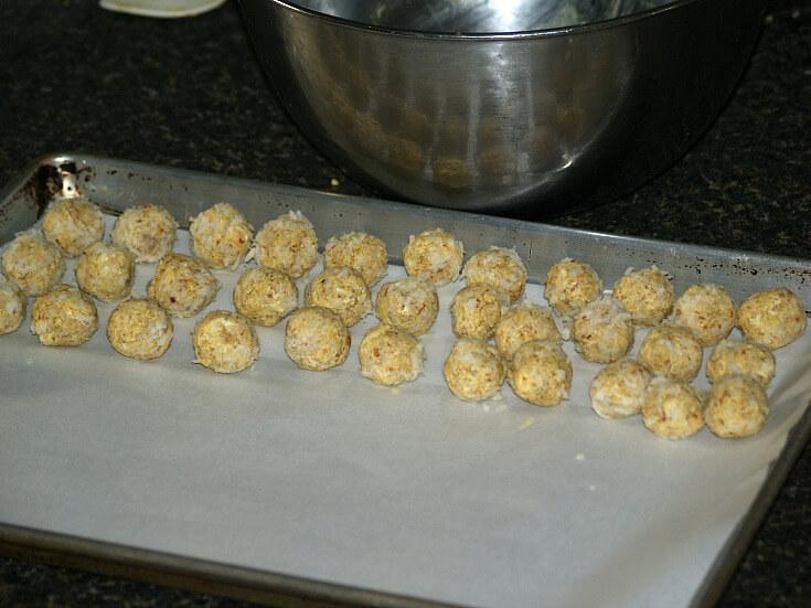 Rolling Chicken Balls