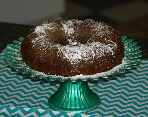 Irish Apple Cinnamon Coffee Cake