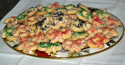 Italian Bow Knot Cookies
