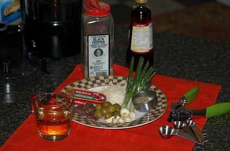 ingredients for Italian Dressing Recipe