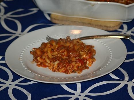 Italian Hamburger Casserole Recipe