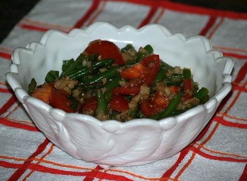 Italian Tomato and Green Bean Salad Recipe