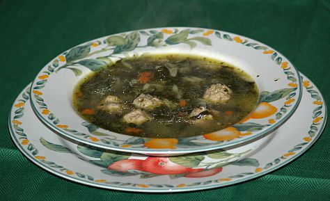 How to Make Italian Wedding Soup with Meatballs