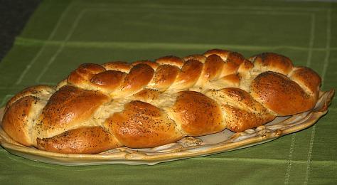 Jewish Challah Bread Recipe