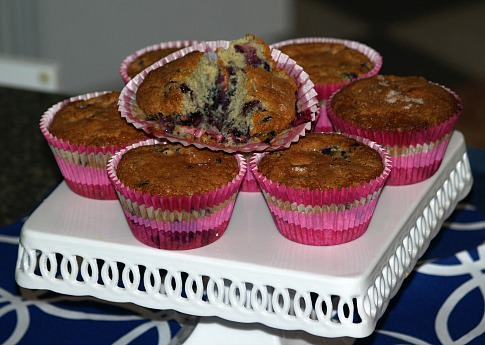 Jordan Marsh Blueberry Muffin Recipe