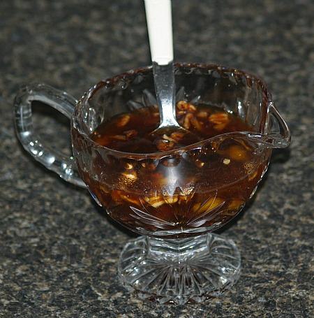 kentucky bourbon dessert sauce