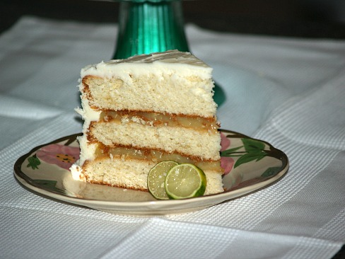 key lime layer cake recipe