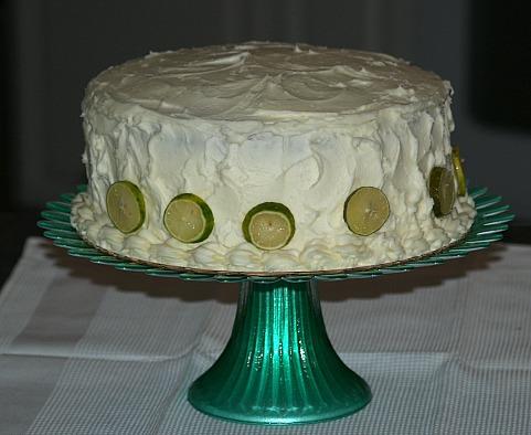 how to make key lime cake recipe