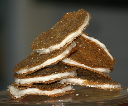 Lace Sandwich Cookie Recipe