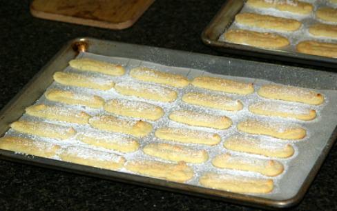 Fresh Baked Lady Fingers