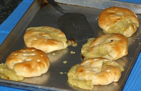 My favorite Large Potato Knishes