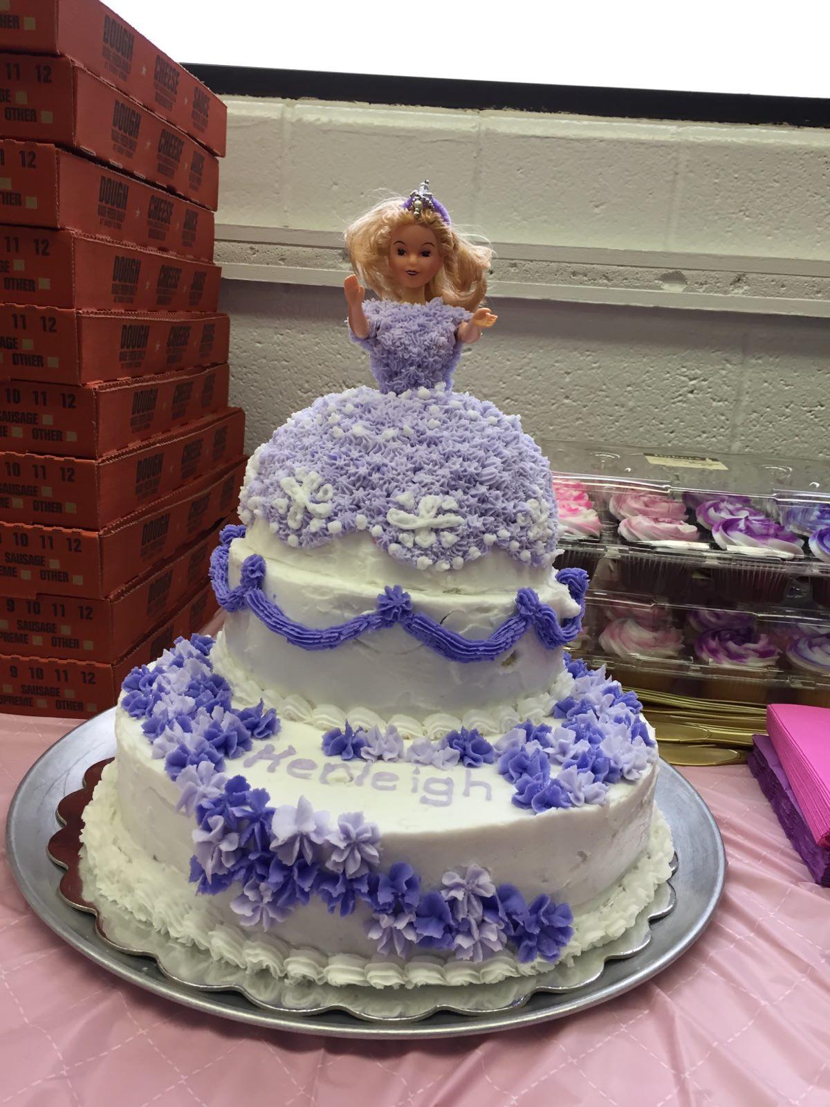 Disney Princess Sophia Cake