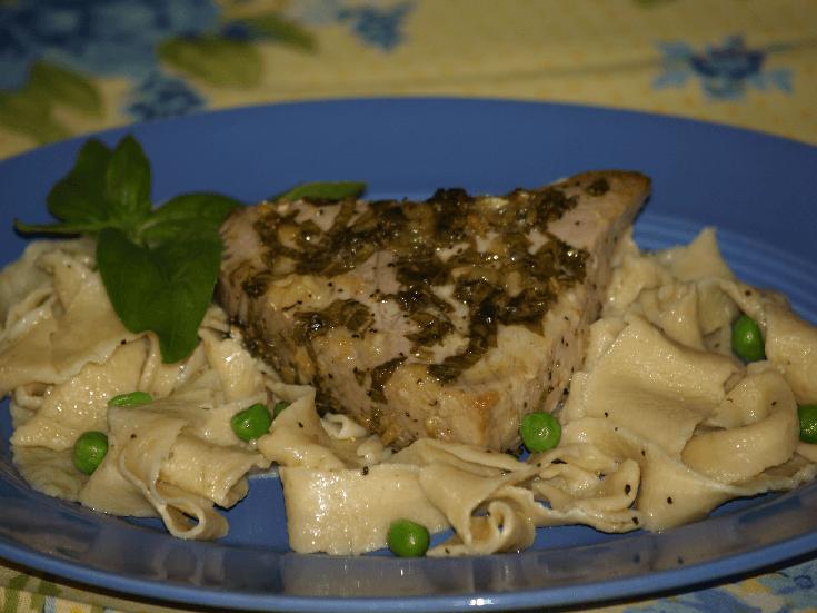 Lemon Basil Tuna