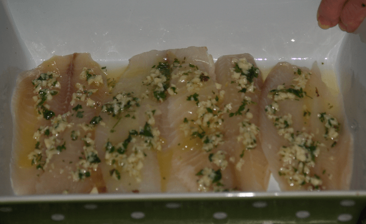 Lemon Butter Tilapia Ready to Bake