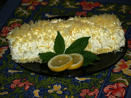 lemon cake roll recipe