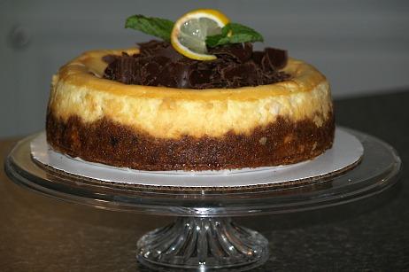 how to make lemon cheesecake recipe