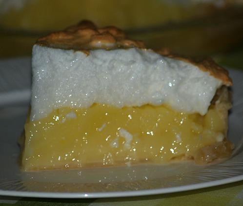 Favorite Lemon Meringue Pie Piece