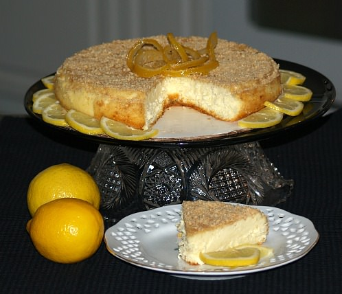 light lemon cheesecake recipe