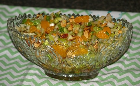 How to Make a Mandarin Orange Salad
