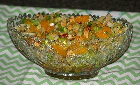 How to Make a Mandarin Orange Salad