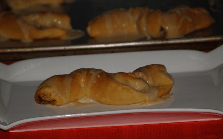 Maple Pecan Crescent Twists