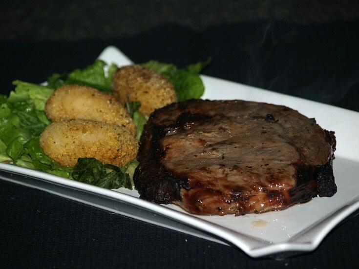 Marinated Ribeye Steak