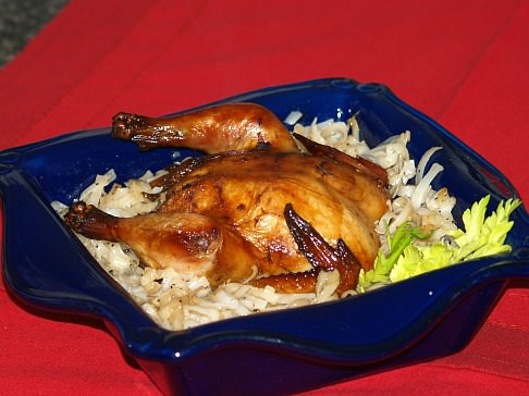 Marinated Cornish Game Hens Recipe