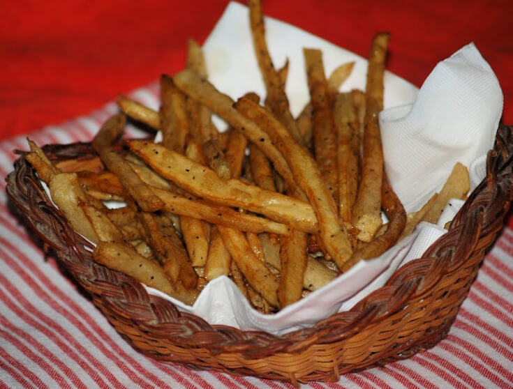Easy Homemade Matchstick French Fries