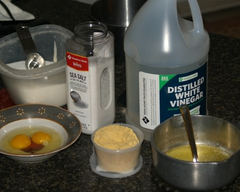 Mayonnaise Ingredients