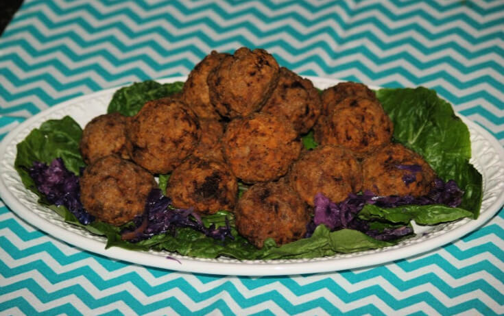 Mustard Meatballs for a Crowd