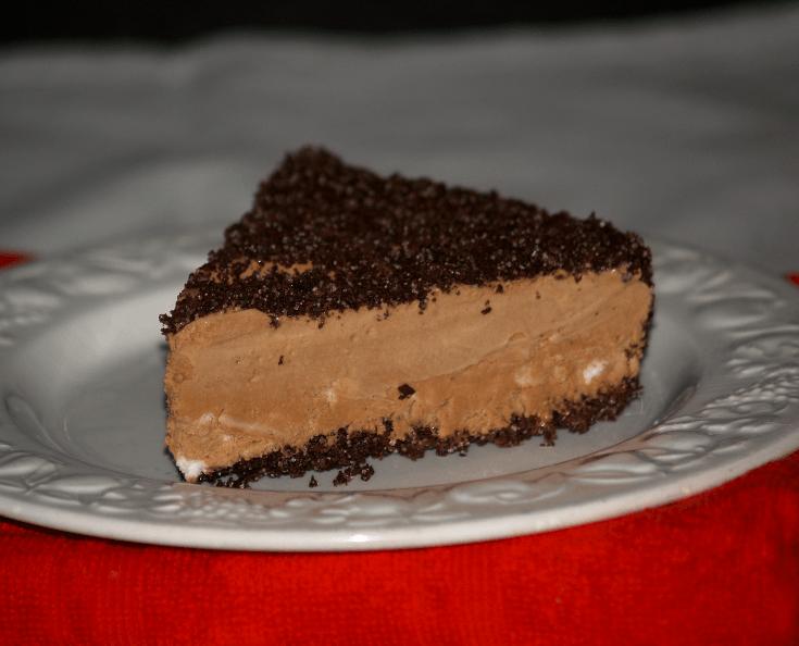 Frozen Mocha Torte Piece