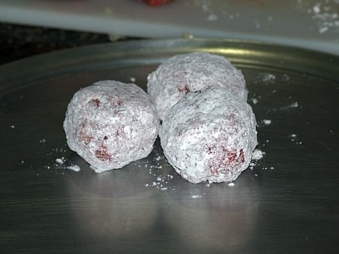 Mexican Meatballs Rolled in Flour