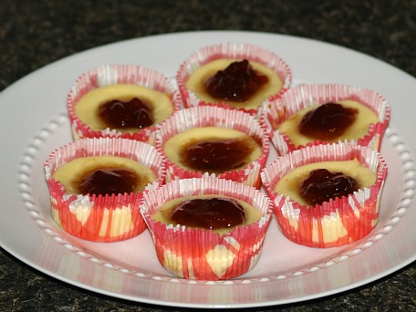 how to make mini cheesecake recipe