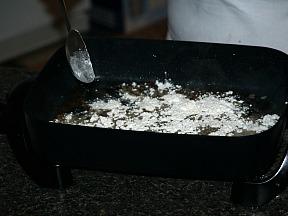 Making Cream Gravy