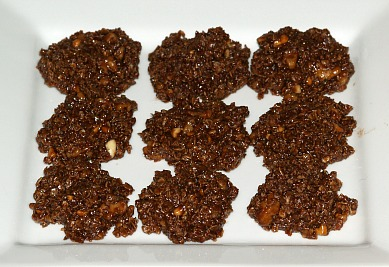 How to Make No Bake Cookie Recipe like these Chocolate Oatmeal Cookies