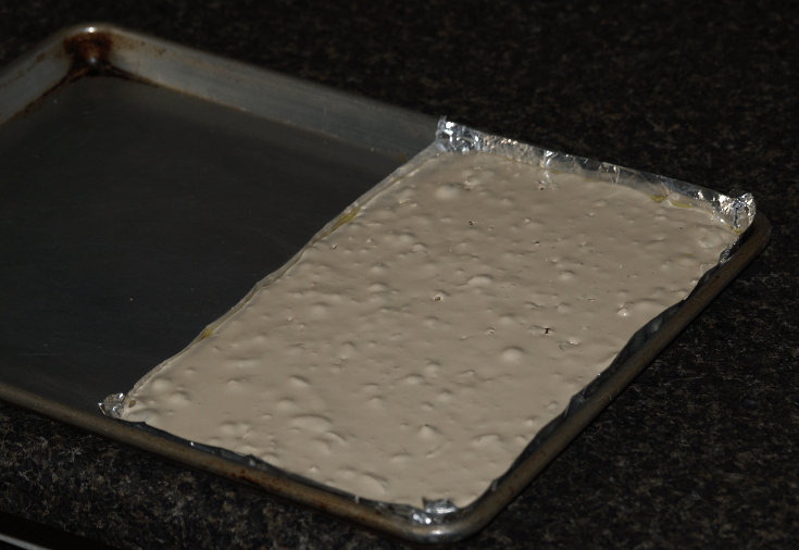 To Have Exact Size Pan I Make My Pan with Two Heavy Layers of Foil