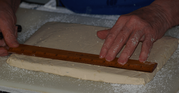 Cutting Nutty Nougat