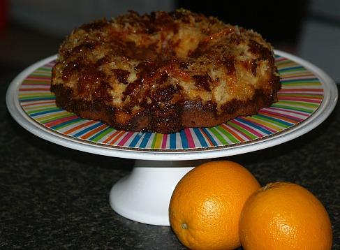 Orange Coconut Cake