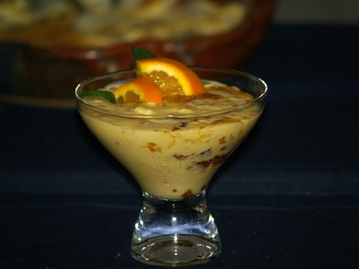 Orange Creme Brulee