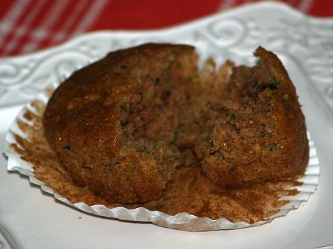 Orange Muffin Recipe with Zucchini