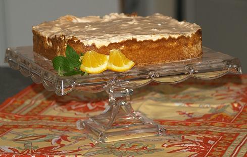 How to Make No Bake Cheesecake Recipes like this Orange Cheesecake