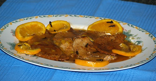 Orange Pork Chops