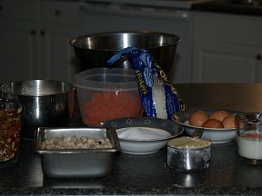 Ingredients for Orange Slice Cake Recipe