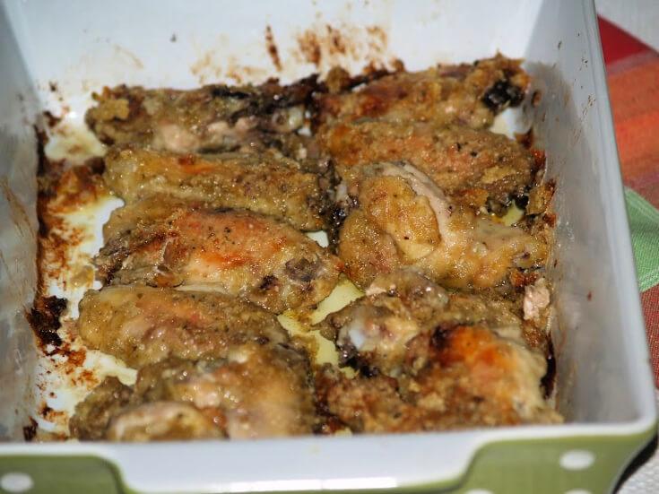 Oven Fried Chicken Drumettes