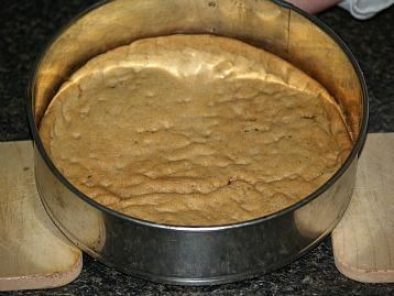 prepared crust for the peanut butter cheesecake
