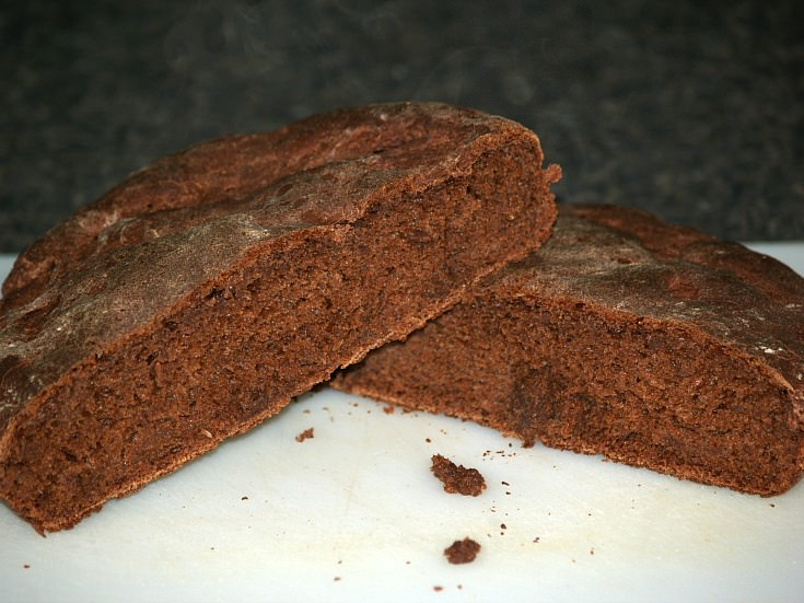 Peasant Black Bread Recipe